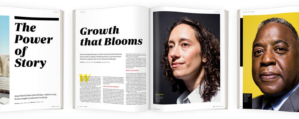 About - Profile magazine