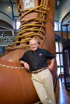 Ralph Balestriere, executive vice president and chief financial officer of Red Wing Shoes.