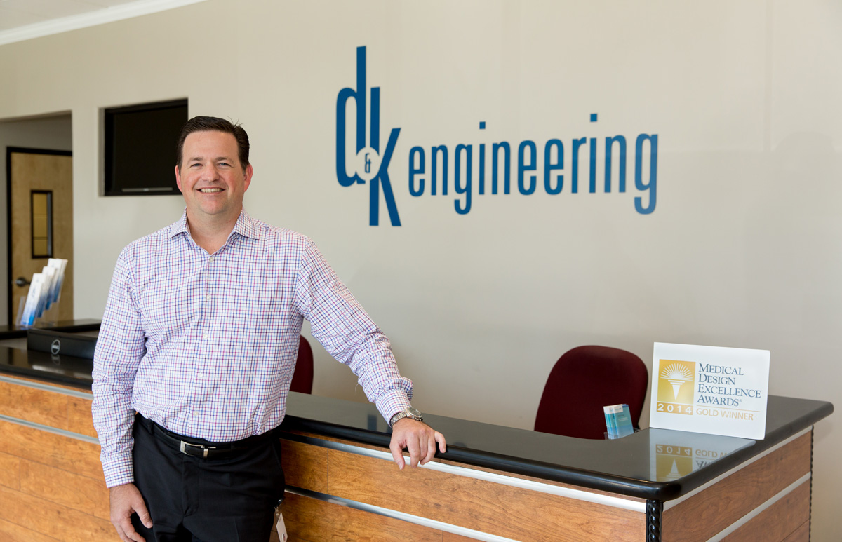 Scott Dennis, founder and CEO of D&K Engineering