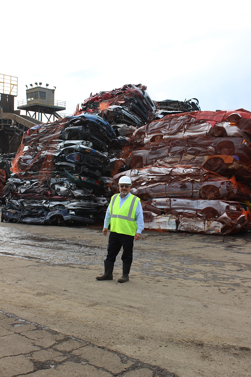 How Peter Saba Cultivates Transformation Profile - Schnitzer scrap yard