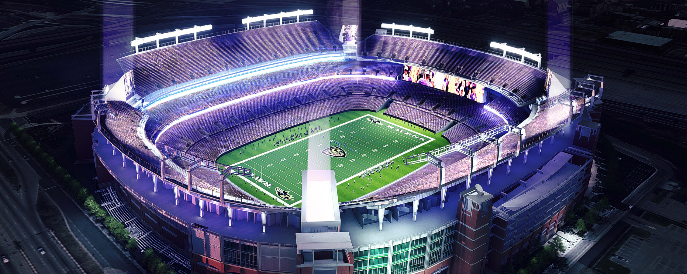 Brandon Etheridge S Home Field Advantage With The Baltimore Ravens