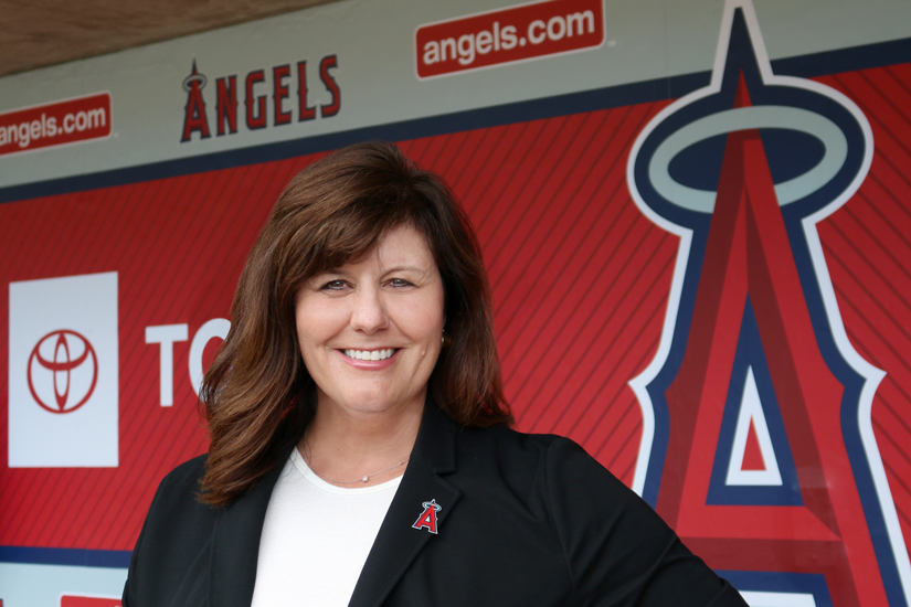 Deborah Johnston Los Angeles Angels