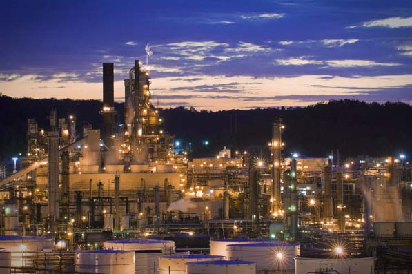 Located just outside of Catlettsburg, Kentucky—a mere three hours from where J. Michael Wilder grew up—Marathon Petroleum's Catlettsburg Refinery can process a wide range of both sweet and sour crude oils at a capacity of 233,000 barrels per day.