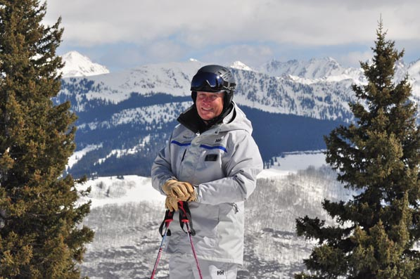 Tasked with inspiring a new generation of Vail employees with the resort's historic legacy, Mark Gasta knows the best way to champion the Vail culture is to get out of the office and experience it himself.