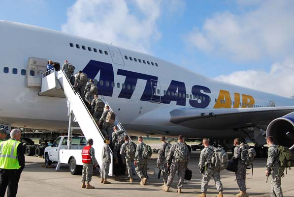 Atlas Air has long been a key transportation partner for the US military, and has recently instated a fleet of passenger aircraft to help move troops across the globe.