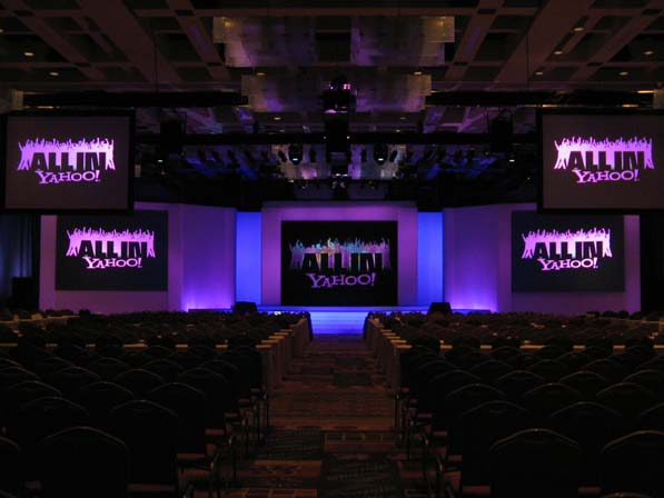 LDJ has made a splash at YAHOO! events, such as the 2009 National Sales Conference in San Antonio, TX.