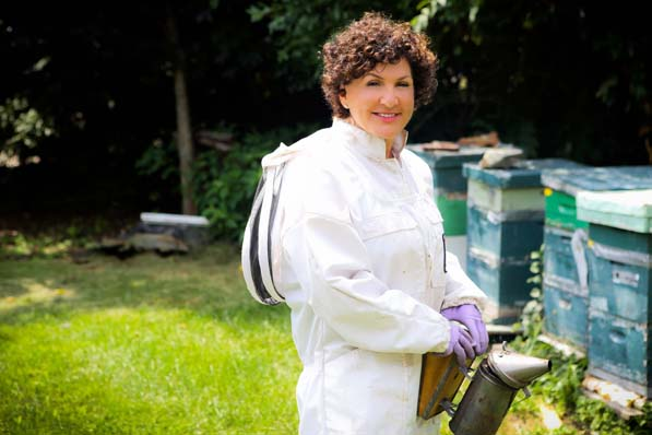 "Working the bees is a patient process, and Robin Samora knows to give them space. Lessons like this have a practicalplace in the workplace as well, and Samora brings them to her work as a PR strategist. ""Bees work on instinct,"" she says. ""We have to be open to instinct and using our gut reaction."""