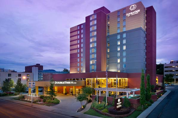 Located in downtown Chattanooga, TN, this DoubleTree hotel is one of several hotels in the city that belong to Vision Hospitality Group.